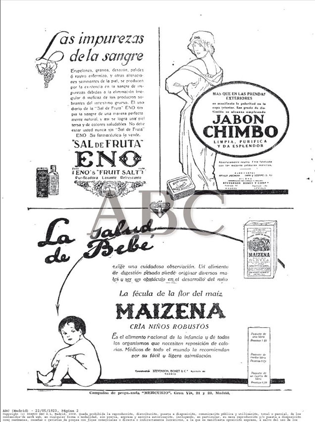 ABC Madrid 22.05.1923 Pág.2