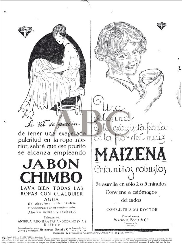 ABC Madrid 31.08.1923 Pág.2