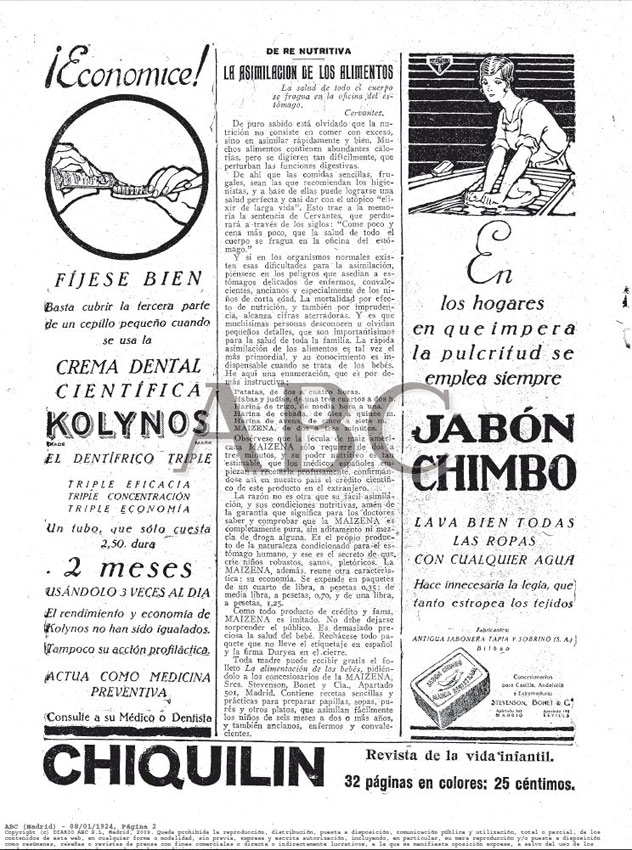 ABC Madrid 08.01.1924 Pág.2