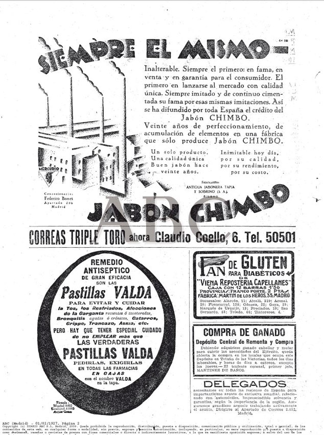 ABC Madrid 01.02.1927 Pág.2